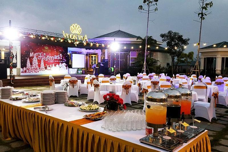 Đặt tiệc lưu động outside chuyên nghiệp từ dịch vụ Hai Thụy Catering